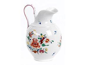 Porzellan-Milch- oder Wasserkanne