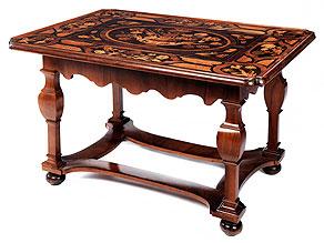Außergewöhnlicher Barock-Spieltisch
