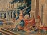 Detail images:  Tapisserie mit mythologischer Szene