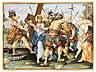Detail images:  Paar Majolika-Bildplatten mit Kreuzwegdarstellungen
