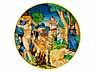 Detail images: Majolika-Istoriato-Teller
