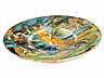 Detail images: Istoriato-Platte mit Lüsterdekor aus der Werkstatt von Maestro Giorgio Andreoli