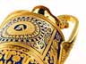Detail images: † Bedeutende, museale Prunkvase der Porzellanmanufaktur Nymphenburg