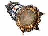 Detail images: † Musealer, historischer Kunstkammer-Uhrenturm in Silber und Email