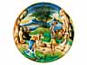 Detailabbildung: Majolika-Istoriato-Teller aus Pesaro