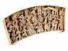 Detail images:  Elfenbeinrelief mit historischer Darstellung der Jungfrau von Orléans