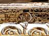 Detail images:  Bedeutende, museale, große Prunkschale in Silber, Email und geschliffenem Kristall