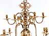 Detail images:  Musealer, kleiner Spätrenaissance-Kronleuchter