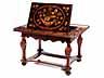 Detail images:  Außergewöhnlicher Barock-Spieltisch