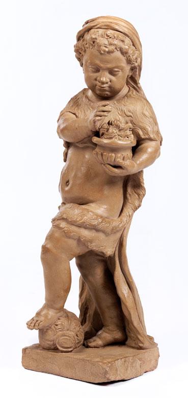 Terrakotta-Skulptur