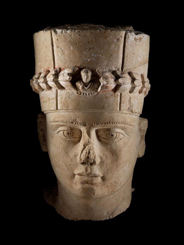 Kopf eines palmyrischen Priesters