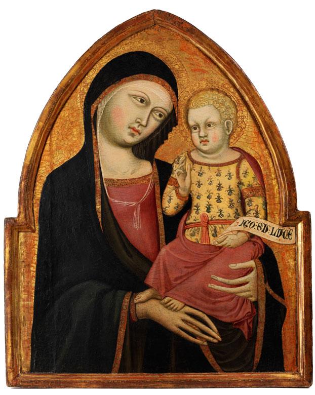 Cristoforo di Bindoccio il Malbarba und Meo di Pero dokumentiert in Siena zwischen 1356 und 1407