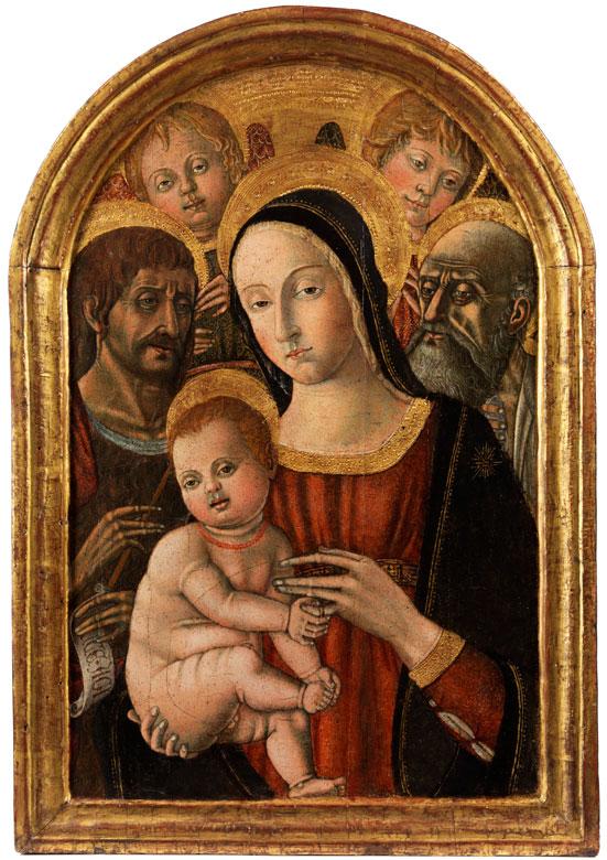 Matteo di Giovanni, Matteo da Siena, um 1435 Sansepolcro – 1495 Siena, zug.