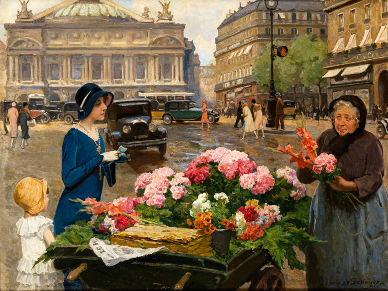 Louis Marie de Schryver, 1862 Paris – 1942
