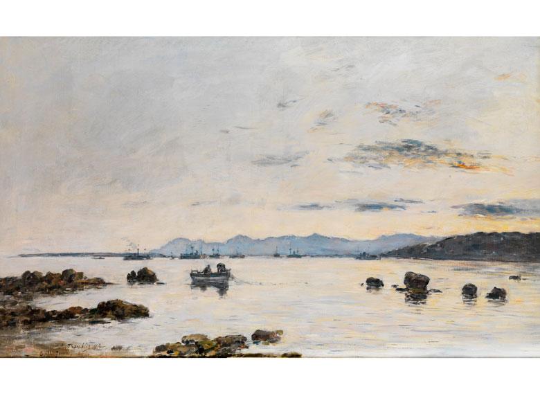 Eugène Boudin, 1824 Honfleur - 1898 Deauville