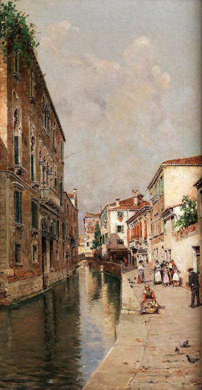 Antonio Maria de Reyna Manescau, 1859 Malaga – 1937 Rom