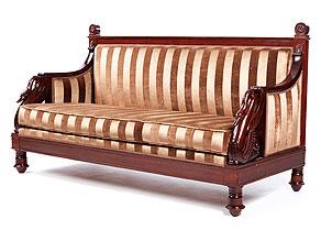 Mahagoni-Sofa der Brüder Jacob