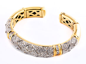 Gold-Brillant-Armreif