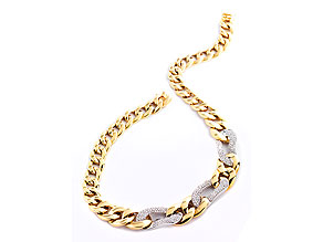 Gold-Brillant-Collier