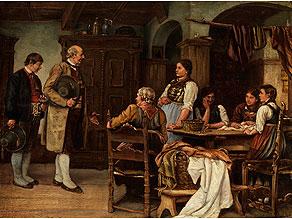 Franz von Defregger, 1835 Stronach – 1921 München, nach