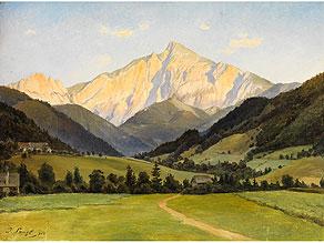 Josef Langl,  1843 Dobrzan – 1920 Wien