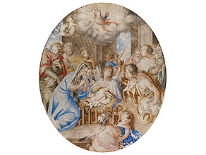 † Deutscher Maler des 18. Jahrhunderts