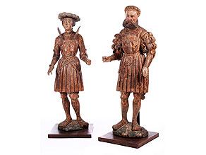 Seltenes Figurenpaar