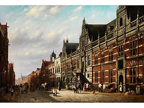 Johannes Franciscus Spohler, 1853 Rotterdam – 1923 Amsterdam