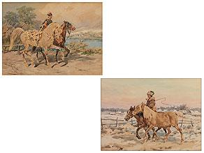 Juliusz Fortunat von Kossak, 1824 Nowy Wisnicz – 1899 Krakau