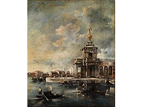 Francesco Guardi, 1712 Venedig – 1793, zug.