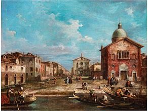Giuseppe Ponga, 1856 Chioggia – 1925 Venedig