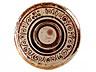 Detail images: Majolika-Wappenteller aus Gubbio