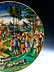 Detail images: Große Istoriato-Platte des Zenobia-Malers