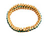 Detail images:  Smaragd-Brillant-Armband