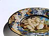 Detailabbildung:  Majolika-Teller aus der Werkstatt des Carlantonio Grue (1655 Castelli - 1723)