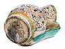 Detail images:  Majolika-Krug aus der Manufaktur S. Fina