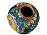 Detail images: Majolika-Vase mit Heiligem Sebastian