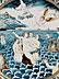 Detail images:  Großer Majolika-Platte aus der Werkstatt von Carlantonio Grue