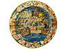 Detail images: Große Majolika-Istoriato-Platteaus der Werkstatt der Fontana