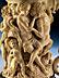 Detail images: † Großer, figürlich beschnitzter Elfenbeinhumpen mit Silbermontierung
