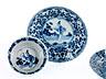 Detail images:  Sechs Porzellan-Koppchen mit Unterschalen