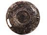 Detail images: Sassanidische Silberplatte mit vergoldeter Tierdarstellung