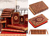 Detail images: Une grande bibliothèque francaise avec 904 livres du 18ème siècle