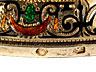 Detail images: Prachtvolles Ensemble einer Kanne mit zugehörigem Rundtablett