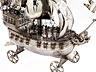 Detail images:  Sehr großes, silbernes Prunkschiff