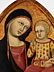 Detailabbildung: Cristoforo di Bindoccio il Malbarba und Meo di Pero dokumentiert in Siena zwischen 1356 und 1407