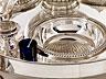 Detail images:  Große Tafel-Serviergarnitur