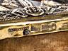 Detail images:  Russische Ikone mit vergoldetem Silberoklad