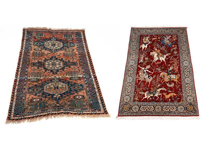 Konvolut zweier Teppiche