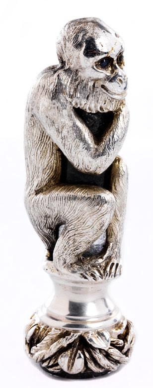 Moskauer Petschaft in Form eines Affen